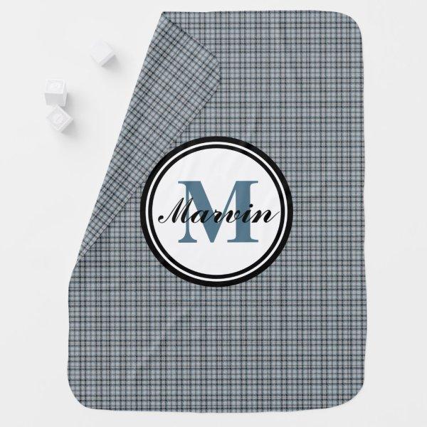 Monogram Baby Blanket