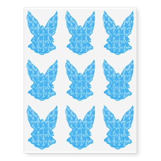 Blue Angel On Your Skin? Temporarily! Temporary Tattoos