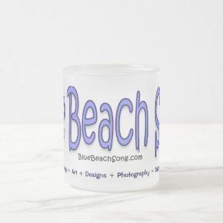 Blue Beach Song™ Mug
