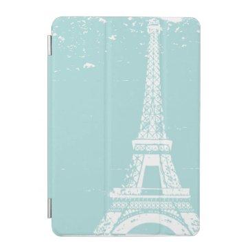 Blue Eiffel Tower iPad Mini Case