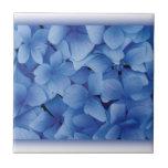 Blue Hydrangea Blossoms tiles