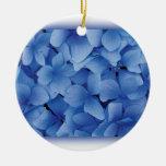 Blue Hydrangea Blossoms ornaments