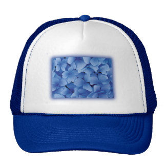 Blue Hydrangea Blossoms Trucker Hat