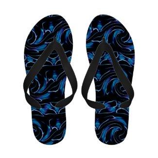 Blue Ocean Flip-Flops