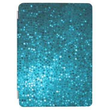 Blue Tones Retro Glitter And Sparkles 2 iPad Air Cover
