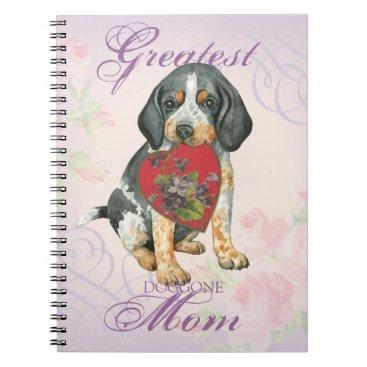 Bluetick Heart Mom Notebook