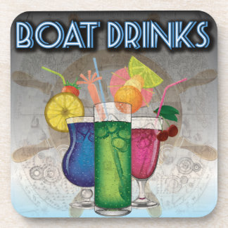 Boat Drinks Drink Coaster