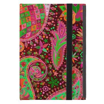 Boho Chic Retro Hippy Paisley iPad Mini Case
