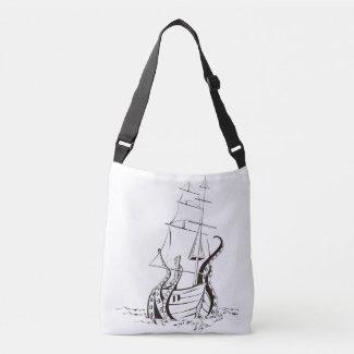 Bolsa Cruzada Kraken bag