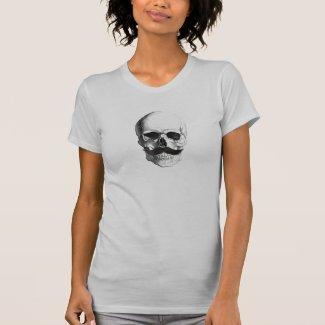 Bone Head Mustache T-shirts