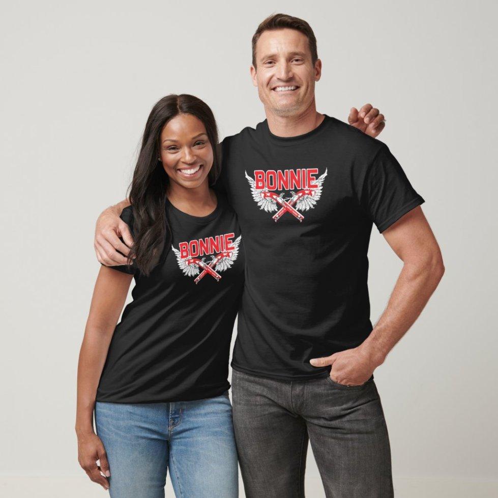 Cute Couple Bonnie and Clyde T-Shirt