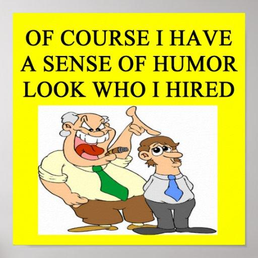 boss humor print zazzle