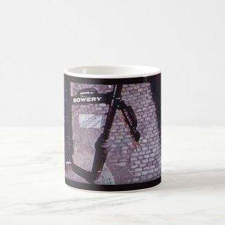Bowery & Grand, NYC coffee mug from Weirdo Video