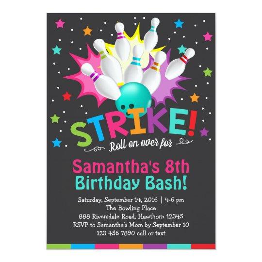 Printable Childrens Birthday Party Invitations