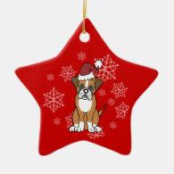 Boxer Dog Ornament