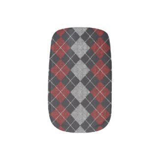 Boyfriends Plaid Shirt Minx Nail Wraps