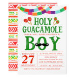 Boy's Baby Shower Fiesta Invitation