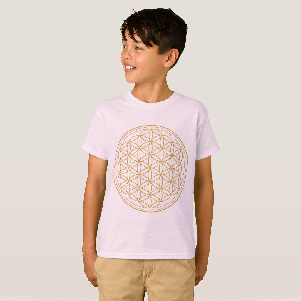 Boys Flower Of Life T-Shirt
