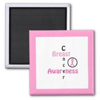 Breast Cancer Awareness - Magnet magnet