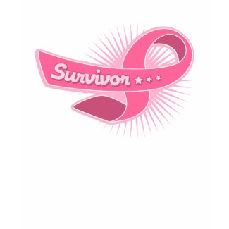 Breast Cancer Survivor Ribbon shirt