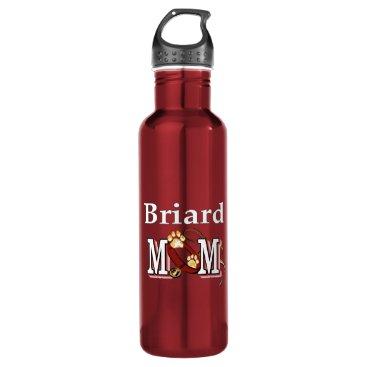 Briard Mom Stainless Steel Water Bottle