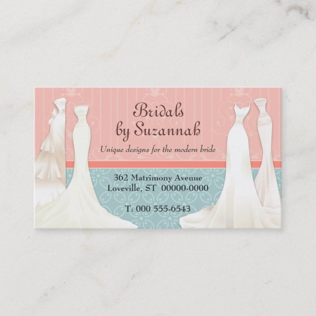 Bridal Gown Business Card