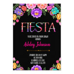 Bridal shower fiesta party invitation