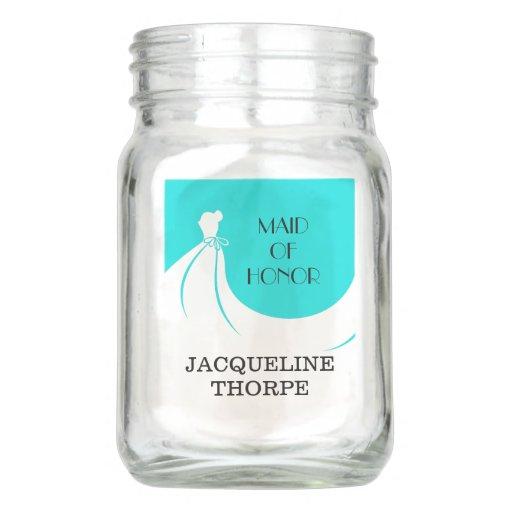 Bridal Shower Mason Jar