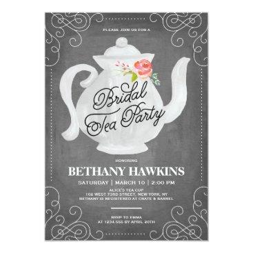 Bridal Tea Party | Bridal Shower Invitation