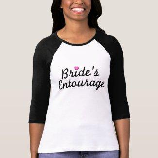 Bride's Entourage shirt
