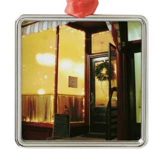 Bridge Street Café – Magic in the Night ornament