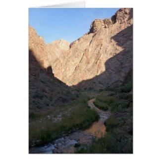 Bright Angel Creek, Grand Canyon card
