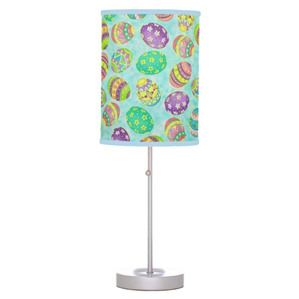 Brilliant Easter Eggs Table Lamp