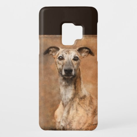 Brindle Whippet Dog Case-Mate Samsung Galaxy S9 Case