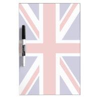 British flag dry erase whiteboard
