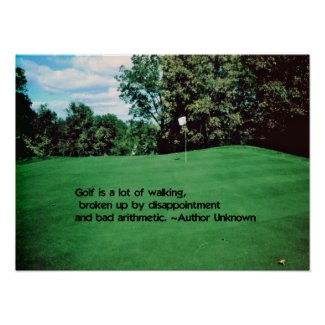 Brookhill Country Club Poster