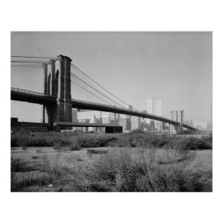 Brooklyn Bridge Photograph - 2 Print