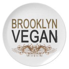 Brooklyn Vegan plate