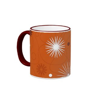 Brown flowers - Mug mug