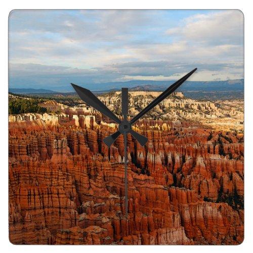 Bryce Canyon National Park, Utah Square Wall Clocks