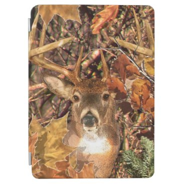 Buck in Camouflage White Tail Deer iPad Air Cover