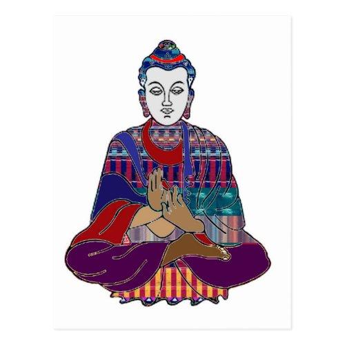 BUDDHA Buddhism Teacher Master NVN659 spiritual Postcard