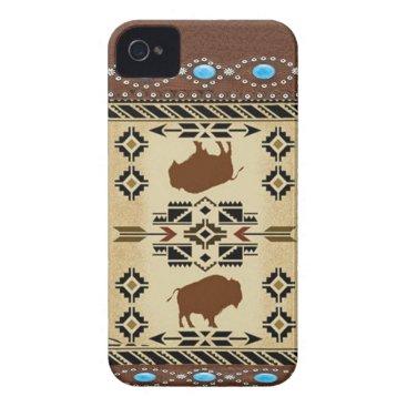 """Buffalo"" Native American IPhone 4S Case"