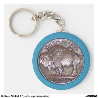 Buffalo Nickel Keychain