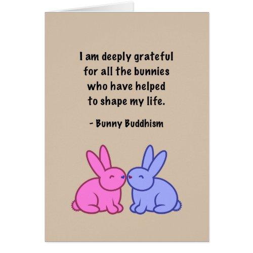Bunny Buddhism