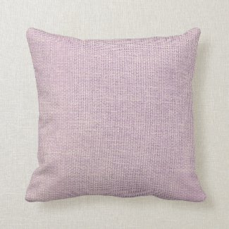 Burlap Simple Pale Pink Pillows