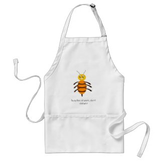 Busy Bee at work apron