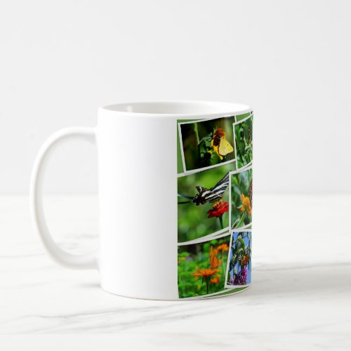 Butterfly Collage Mug mug