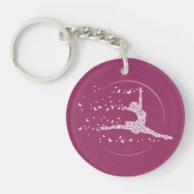 Butterfly Dancer Keychain
