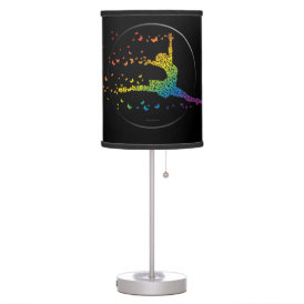 Butterfly Dancer Table Lamp
